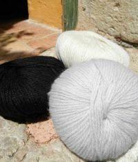 Fil à tricoter - cachemire - Boutique la Bergère du Buëch