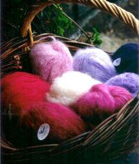 Fil à tricoter - pur mohair - Boutique la Bergère du Buëch