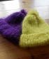 Bonnet pompon - pur mohair - 37 €
