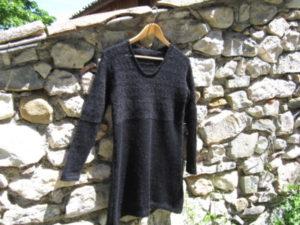tunique venise mohair soie